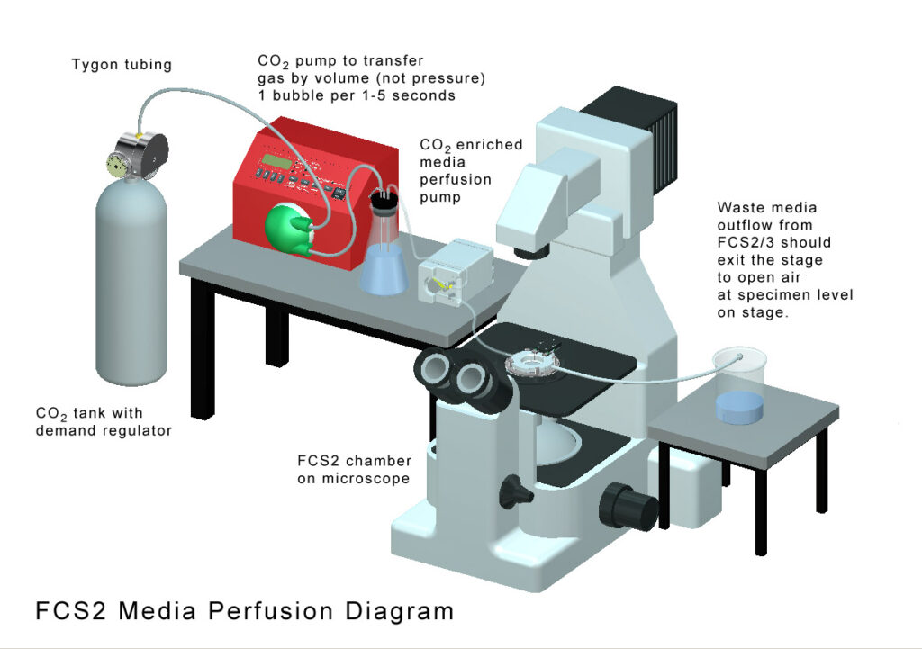FCS2 media perfusion diagram